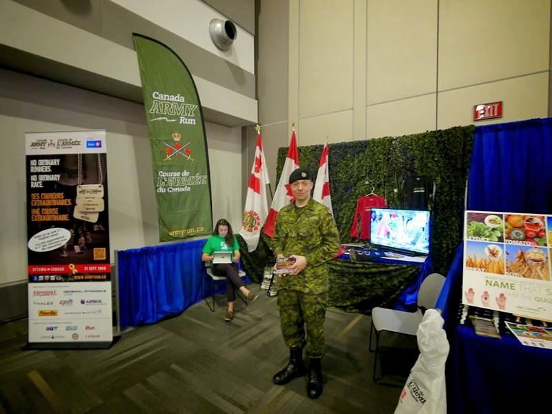 Canadian Forces militaryman