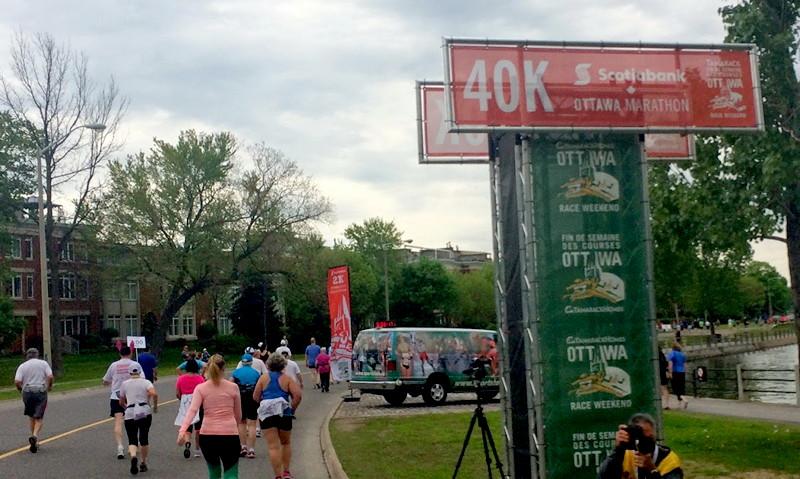 Marathon 40 km
