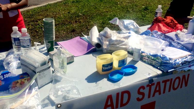 Marathon first aid
