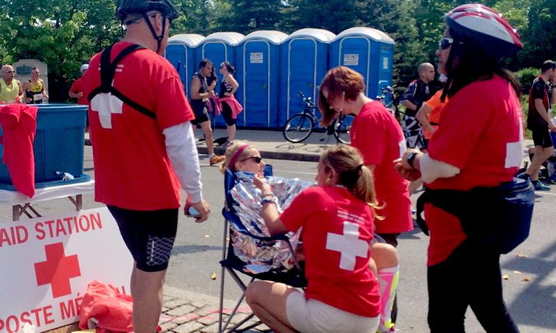 Marathon medical aid