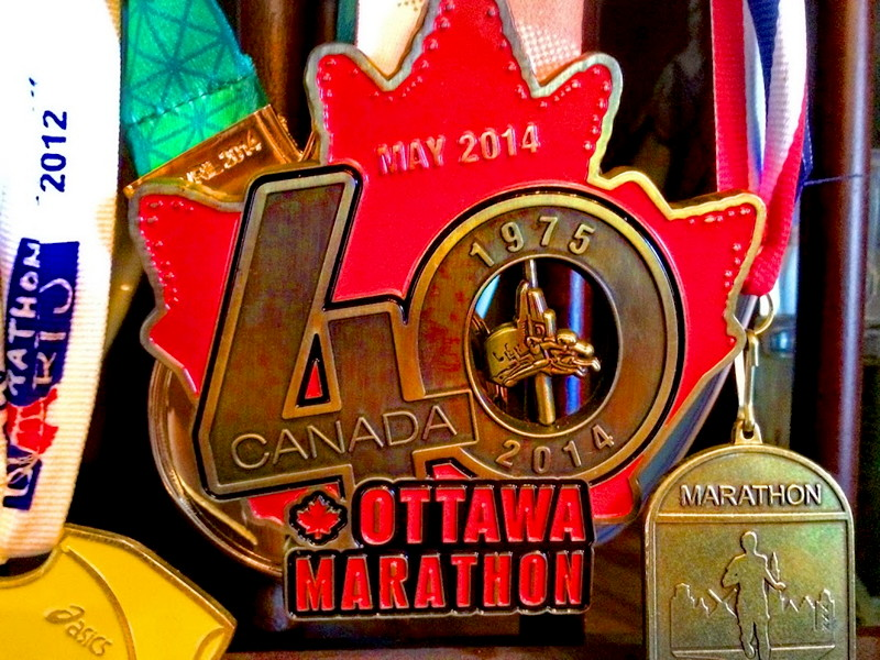 Marathon trophies
