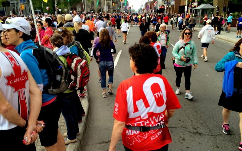 Ottawa marathon t-shirt