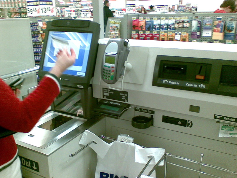 Self serve checkout