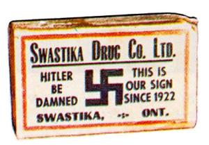 Swastika matchbox