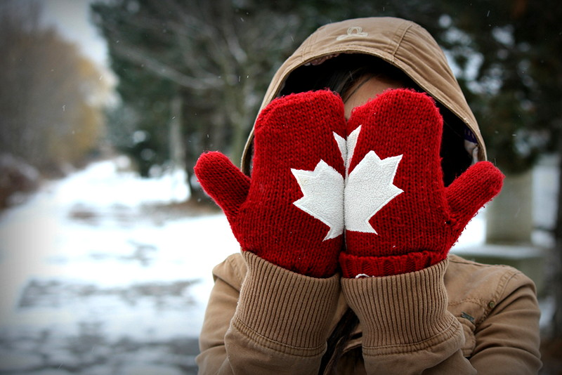 Canadian mittens facepalm