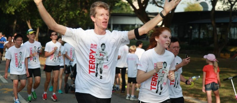 Terry Fox runners